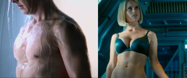 Star Trek Into Gratuitous Nudity: Cumberbatch's Shirtless Scene Cut, Eve's Panty Shot Stays