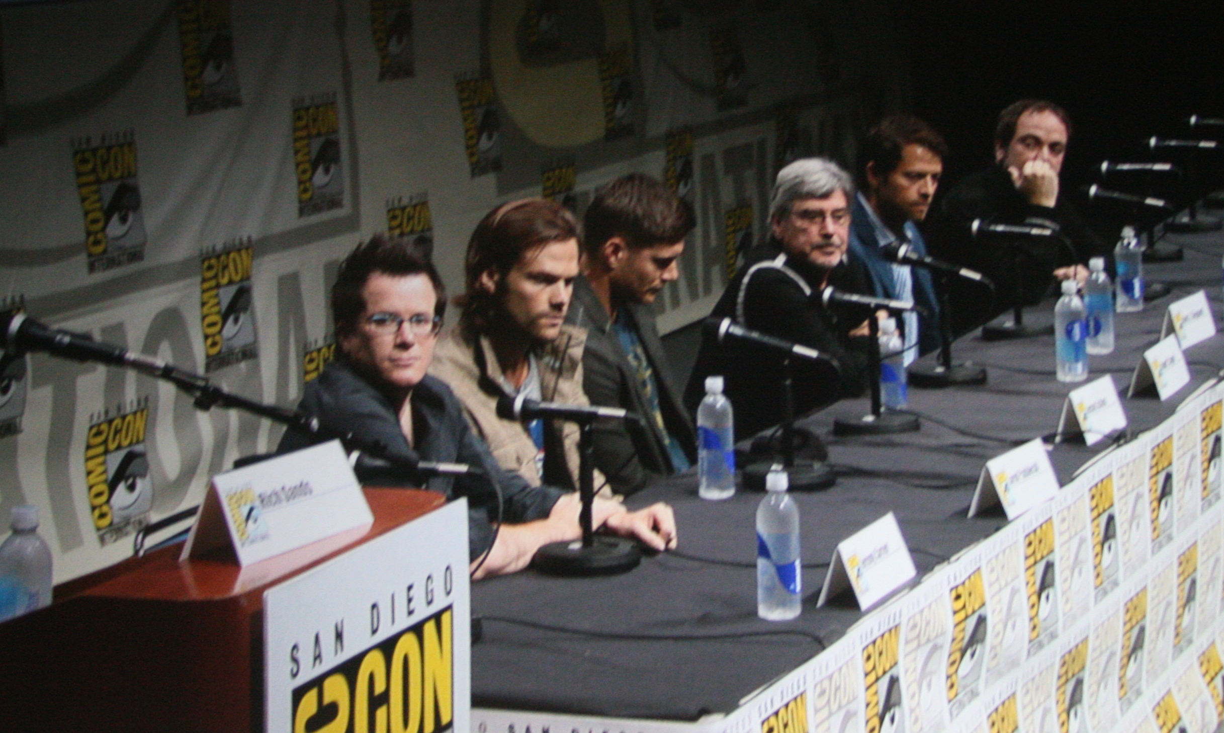 Supernatural at San Diego Comic Con