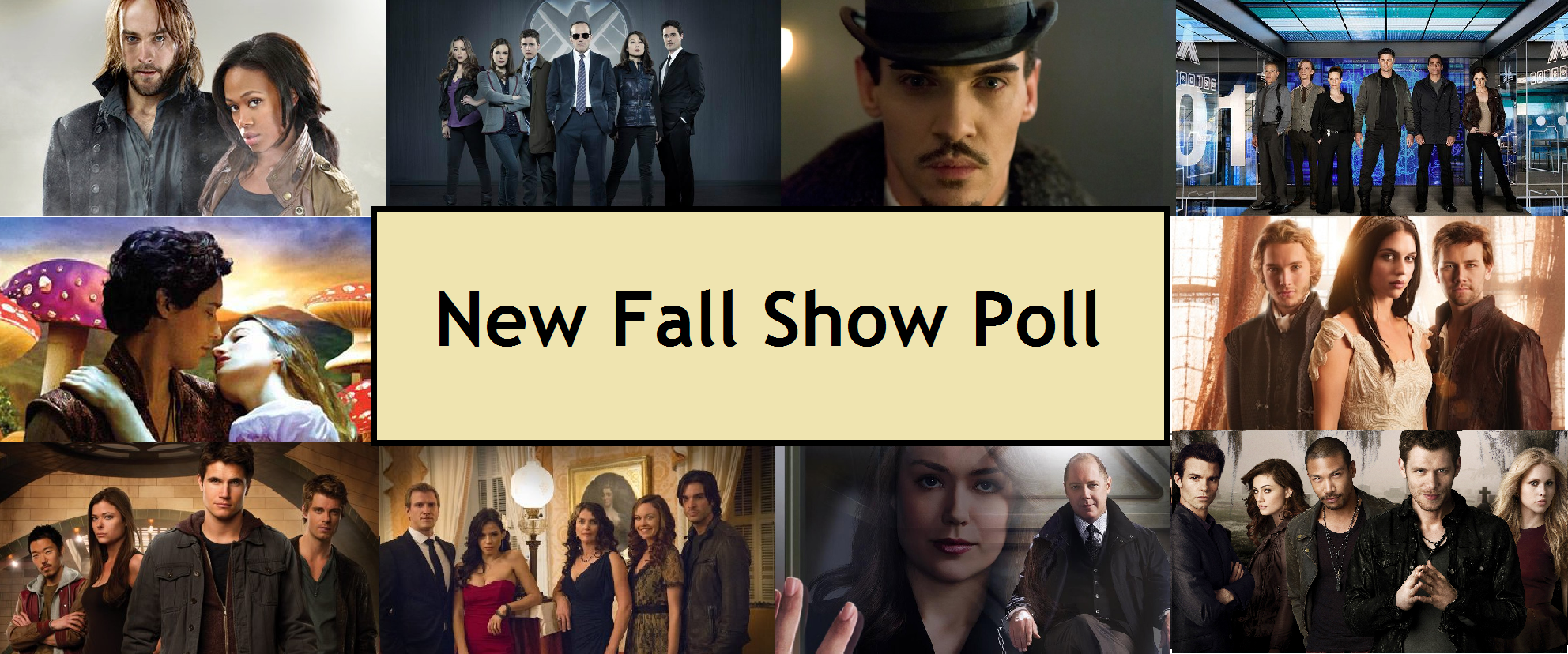 Which New Show Are You Looking Forward To Most This Fall?