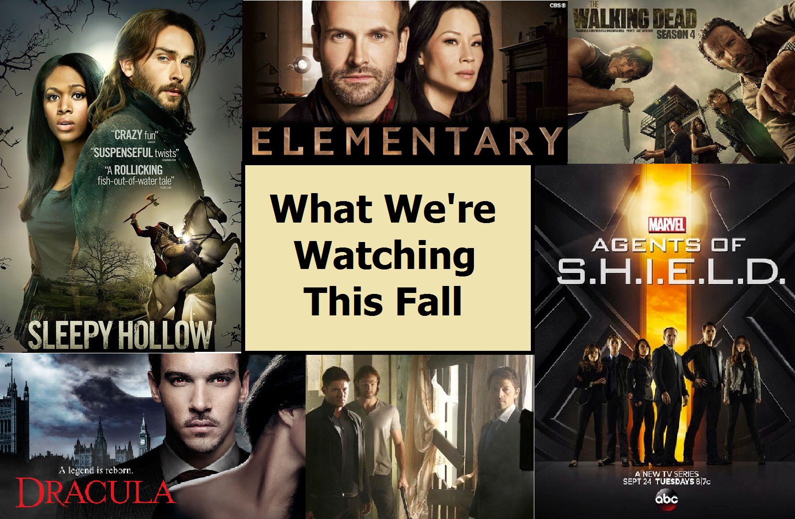 What We're Watching This Fall