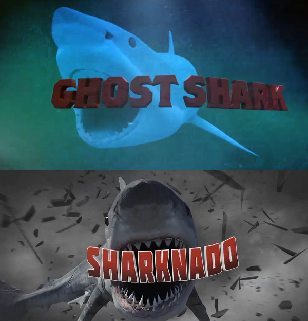 sharknado vs  ghost shark