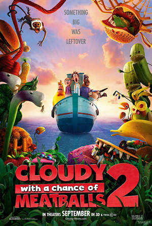 Cloudy With a Chance of Meatballs 2: The Foodening