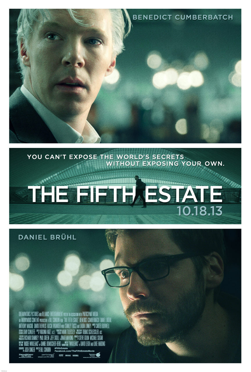 The Fifth Estate: When Fangirls Go See Serious Cinema