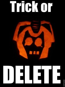 trick or delete