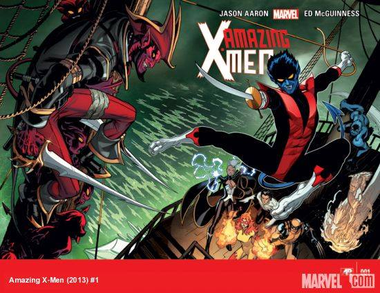 """Amazing X-Men"" Issue #1 Review – Nightcrawler Returns!"
