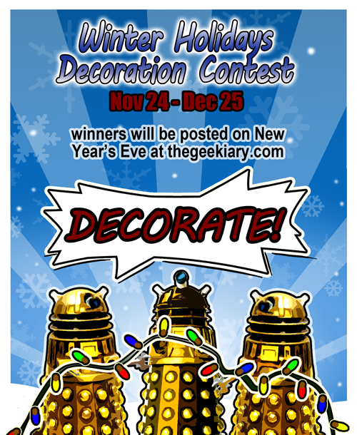 Winter Holidays Decoration Contest