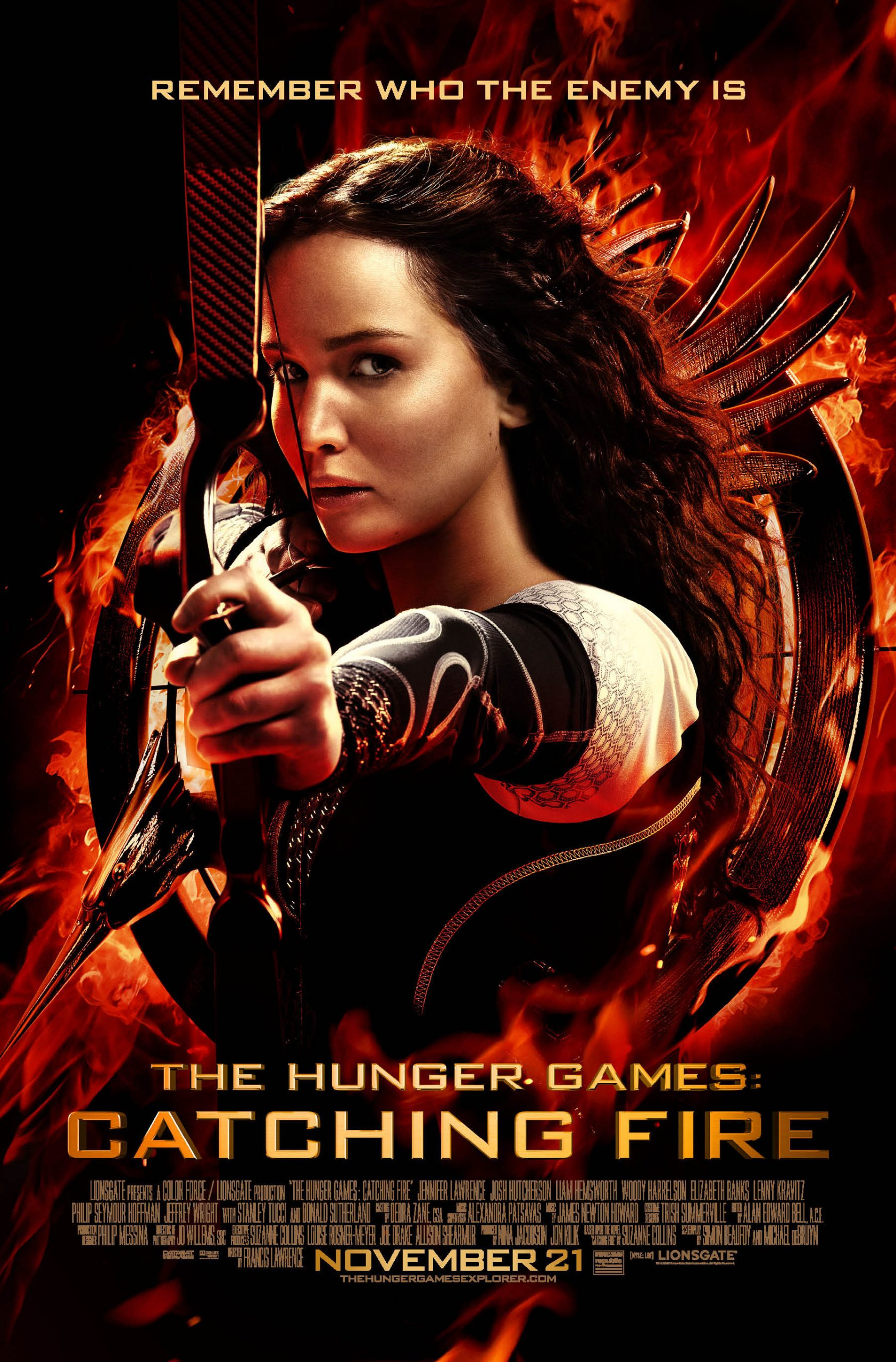 Katniss Everdeen can open Hollywood's Eyes!