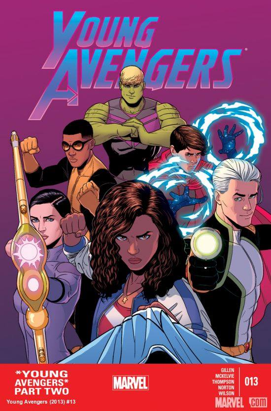 Young Avengers 13 Review: Saved by the Power of Love!