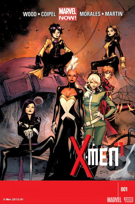 Comic Book Recommendation: Marvel NOW! X-Men…An all female team!