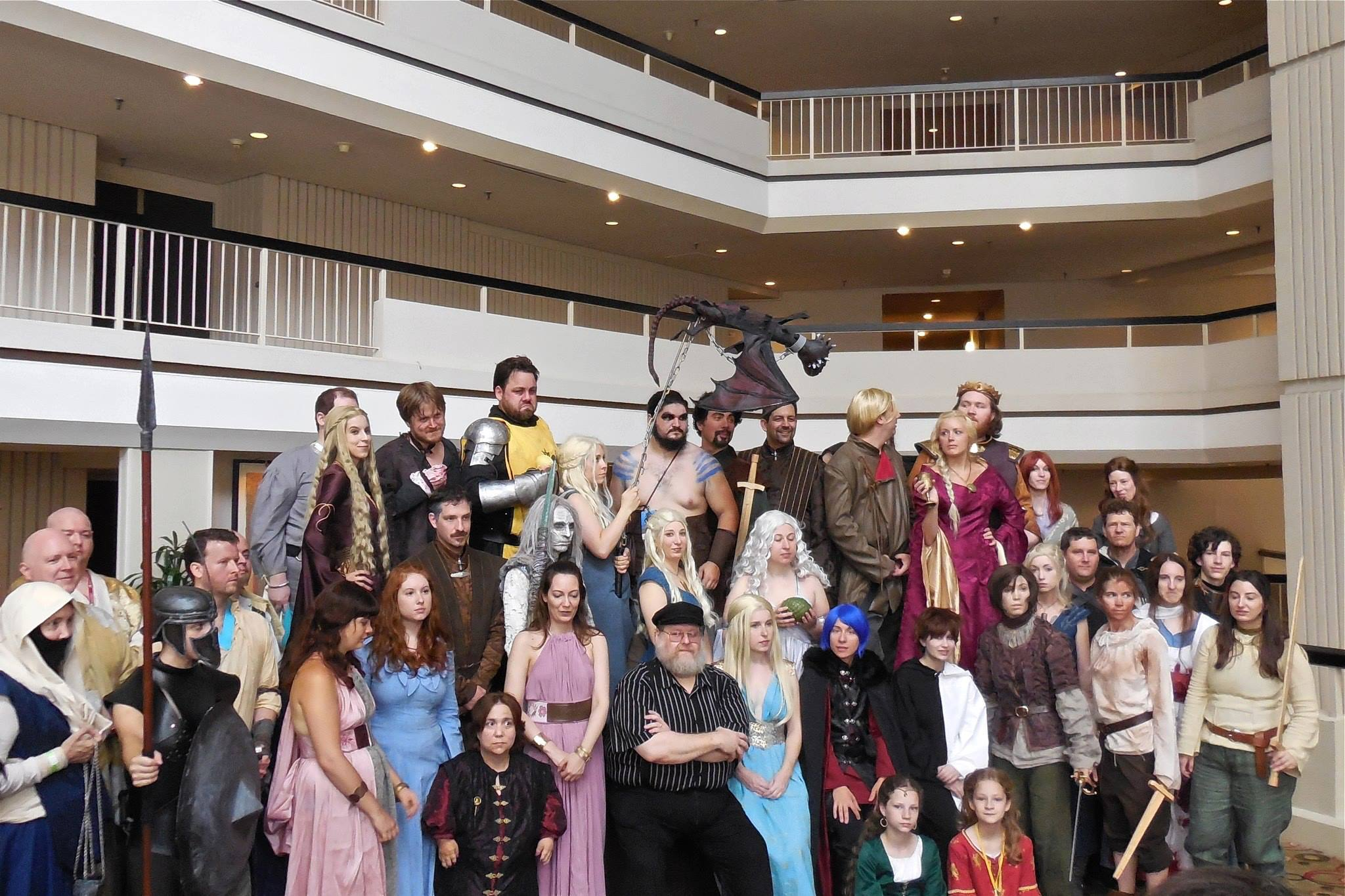 Dragon Con 2013 - Just one of the many Game of Thrones photoshoots