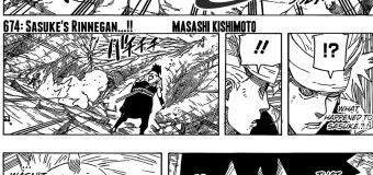 Naruto x 674 Review: Sasuke's Rinnegan…!!