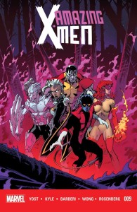 Amazing X-Men #9 cover