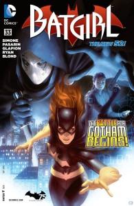 Batgirl #33 cover