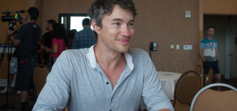 Comic-Con: Tom Wisdom Interview (part 2)