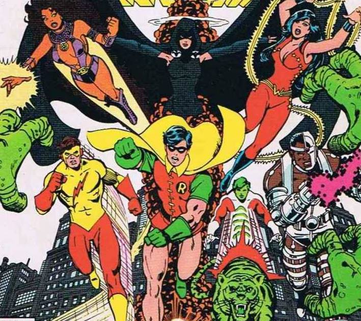 New Teen Titans Vol 1 3 DC Database