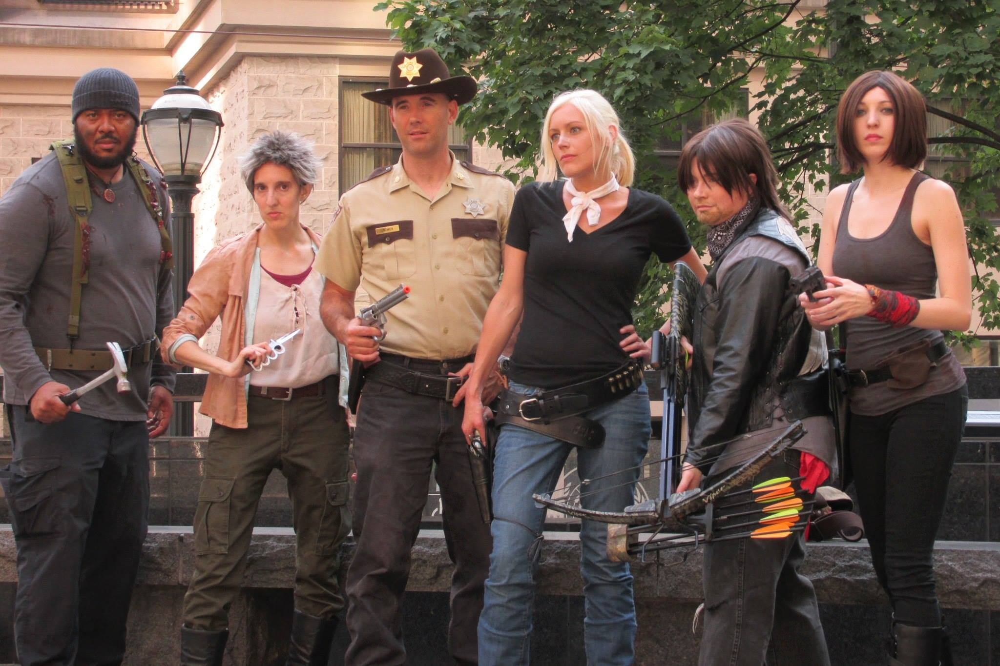 Dragon Con Walking Dead Cosplay