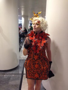Dragon Con Effie Trinket Cosplay