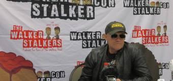 VIDEO: Michael Rooker Press Room at Walker Stalker Con