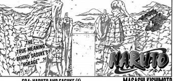 Naruto x 694 Review: Naruto and Sasuke (1)
