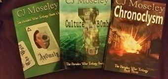 Check out Multi-talented Author CJ Moseley!