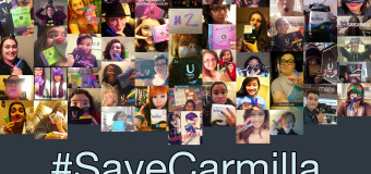 #SaveCarmilla – Fans Get Their Tampons Out For Season Two