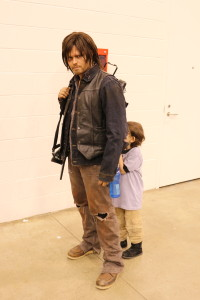 Daryl with his youngest fan