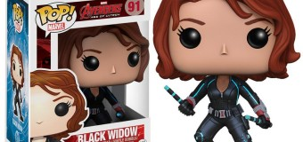 FEELINGS Daily: There's FINALLY a Black Widow Age of Ultron Funko Pop!