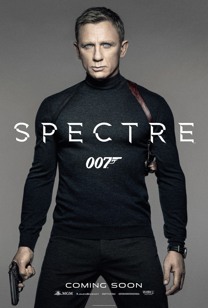 The first bond poster… make sure crop shows a head shot with the turtleneck
