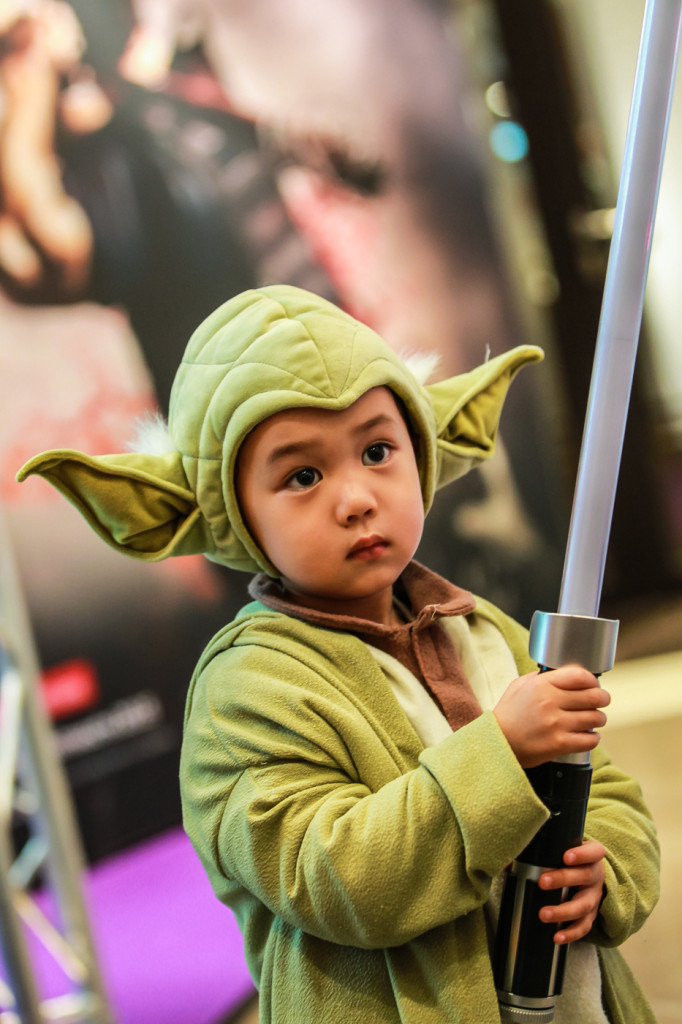 The Star of FedCon: Wee Yoda