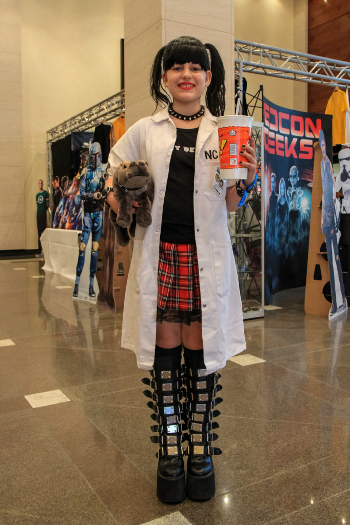 A small version of NCIS's Abby Sciuto