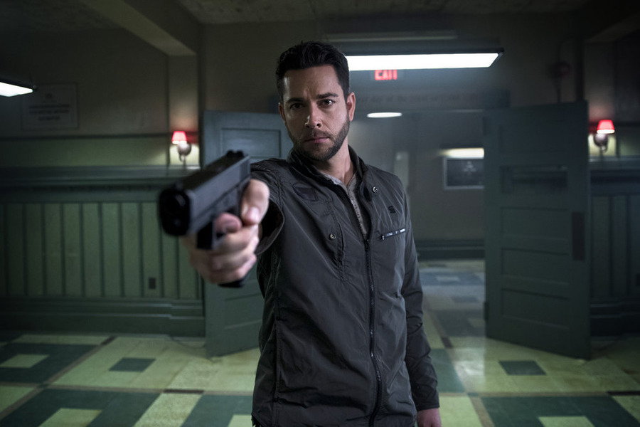 "HEROES REBORN -- ""Awakening"" Episode 101 -- Pictured: Zachary Levi as Luke Collins -- (Photo by: Christos Kalohoridis/NBC)"
