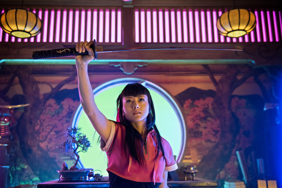 "HEROES REBORN -- ""Awakening"" Episode 101 -- Pictured: Kiki Sukezane as Miko Otomo -- (Photo by: Christos Kalohoridis/NBC)"