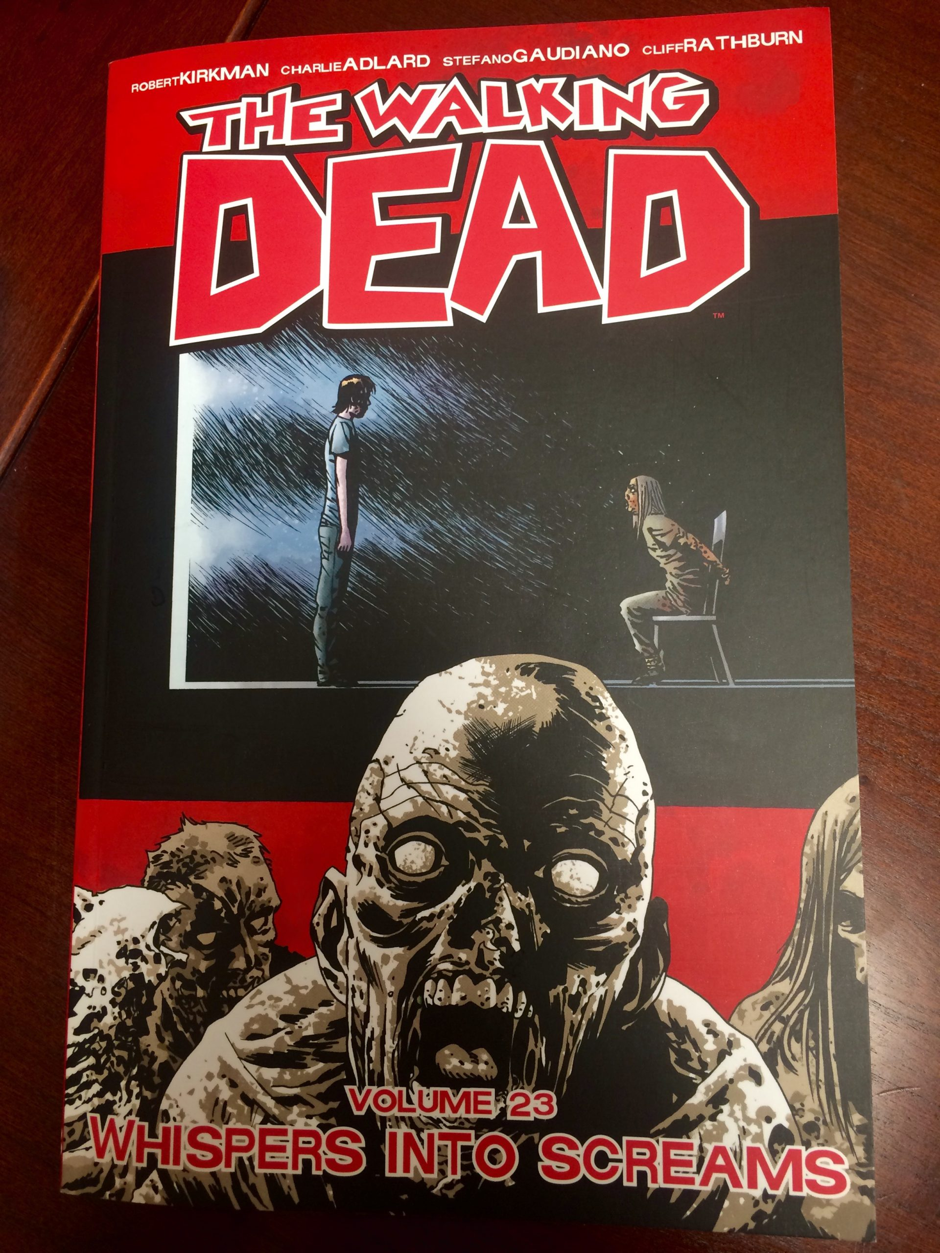The Walking Dead Volume 23 Whispers Into Screams