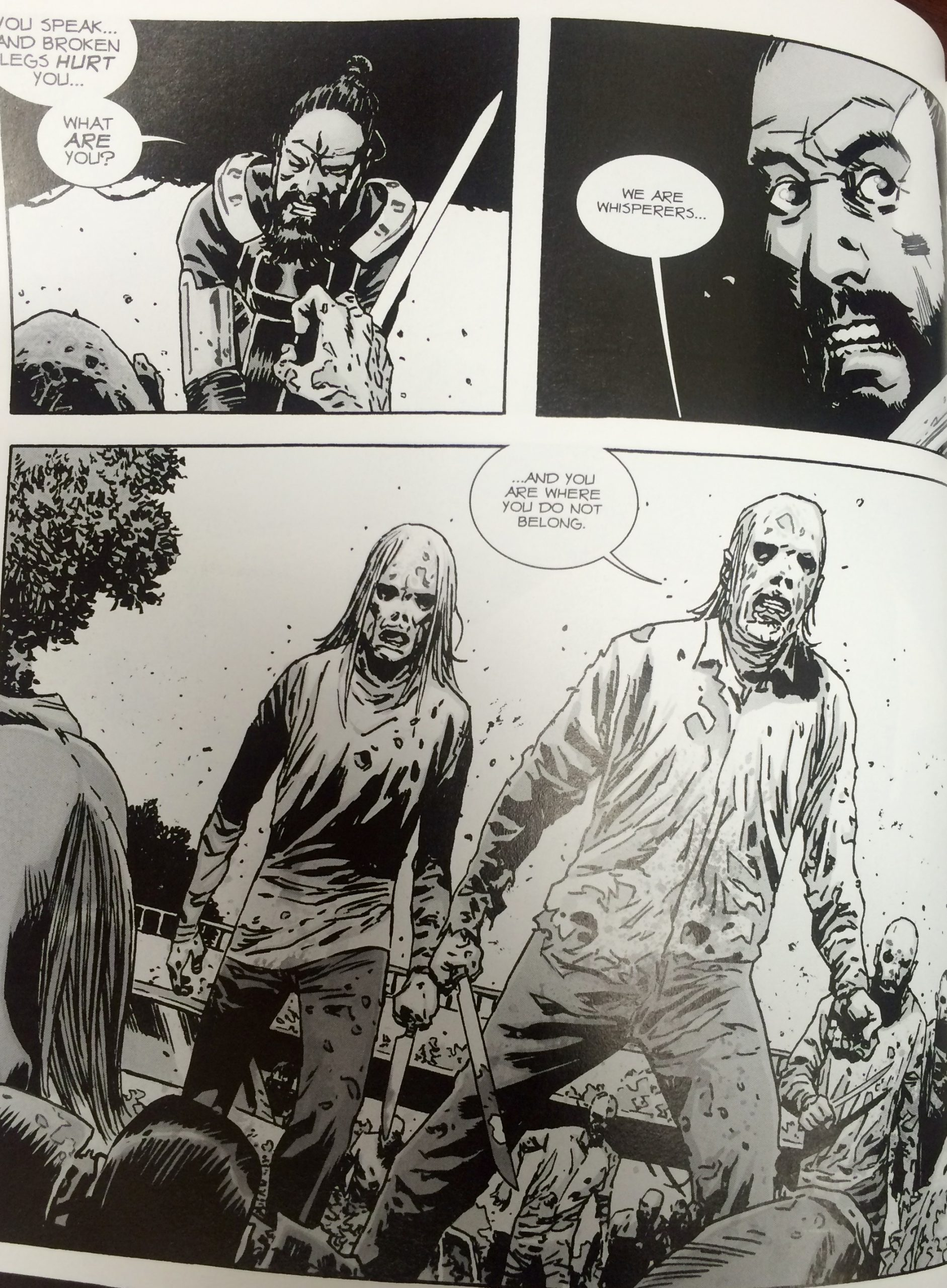 The Walking Dead Whispers Into Screams