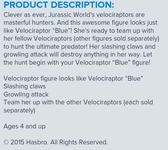 hasbro description