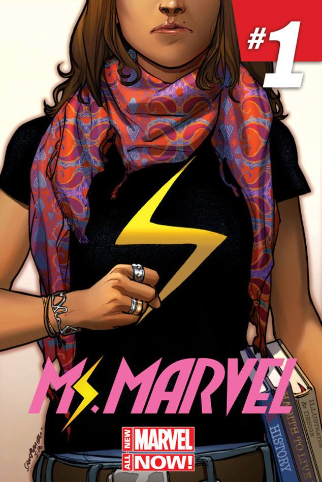 Ms Marvel cover 1