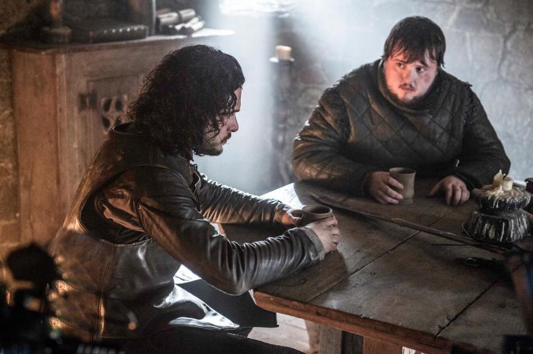 Game of Thrones Jon Snow Samwell Tarly