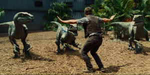 Jurassic World Chris Pratt Velociraptors