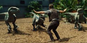Jurassic World Chris Pratt Velociraptors