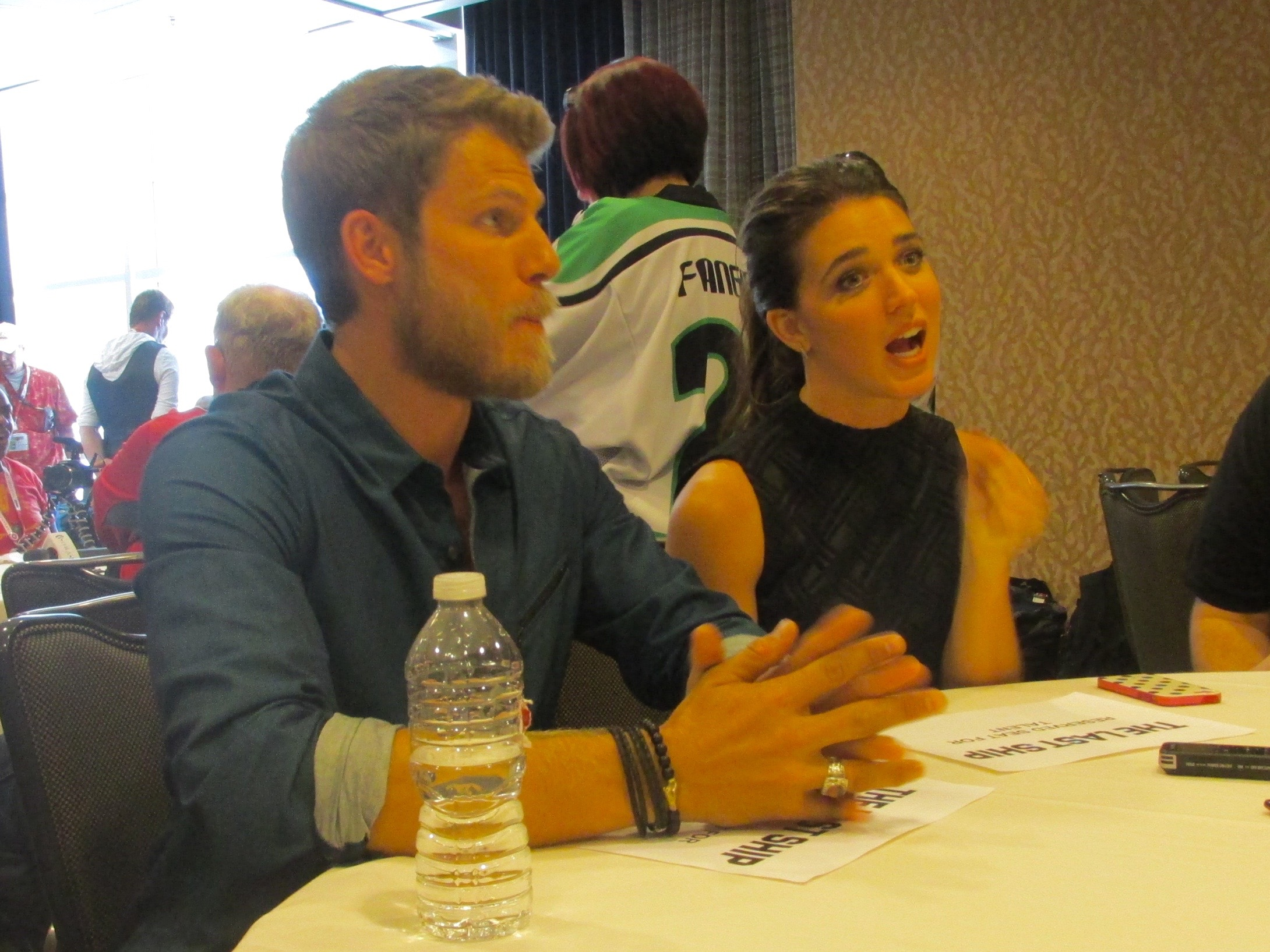 The Last Ship Travis Van Winkle Marissa Neitling