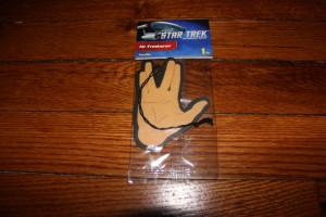Star Trek Air Freshener from Platicolor. Drive On and Prosper!