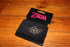 Legends of Zelda Sweatband from Bioworld.