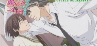 Junjou Romantica 3×1 Review: All Good Things Must Come To An End