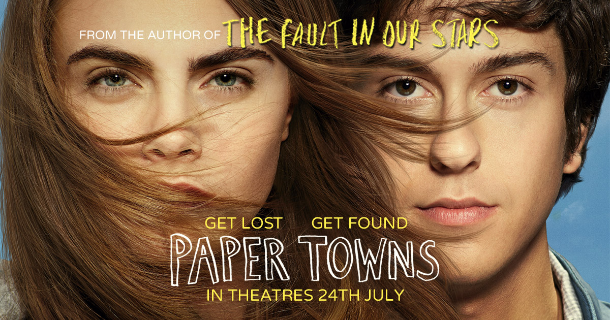 Paper towns movie online