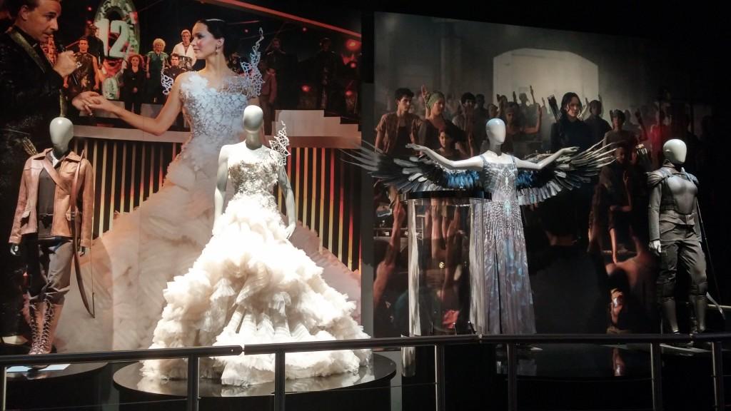 The evolution of Katniss's wardrobe.