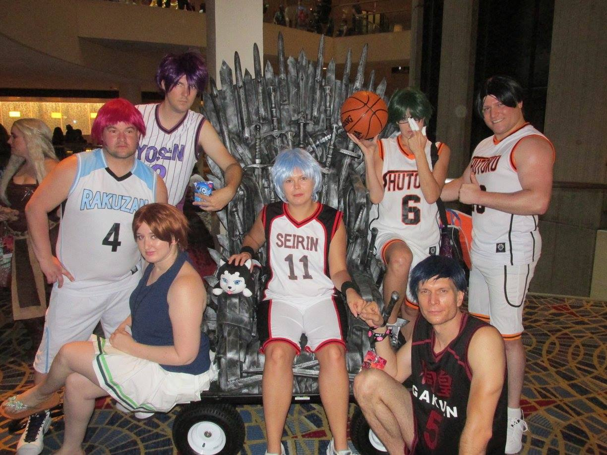 Dragon Con Iron Throne Kuroko no Basket Cosplay