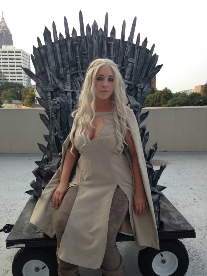Dragon Con Iron Throne Daenerys Targaryen Cosplay