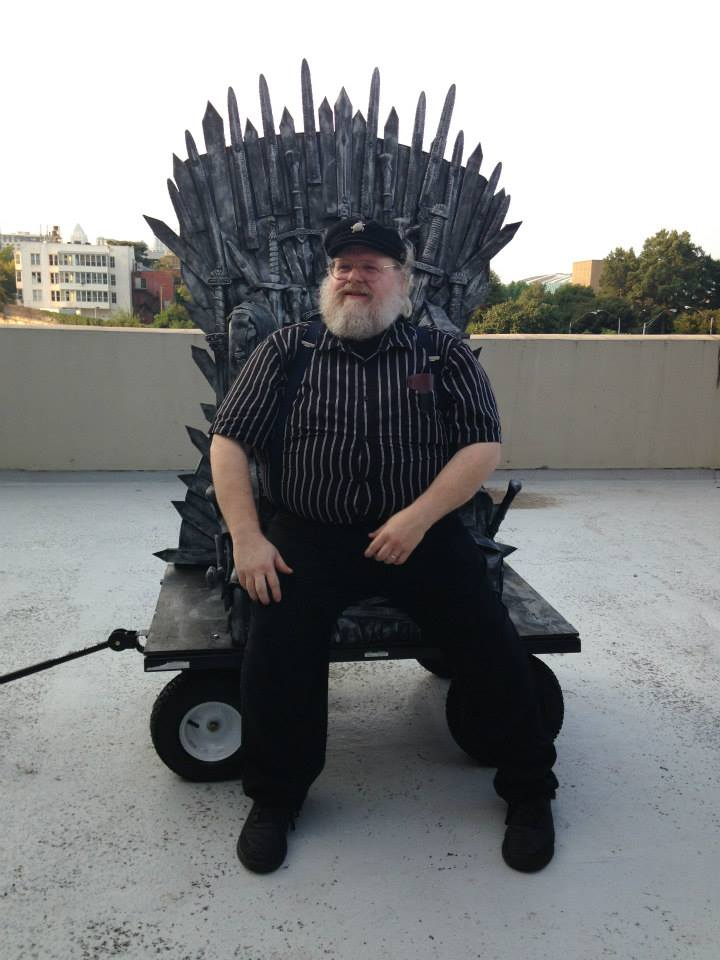 Dragon Con Iron Throne George RR Martin Cosplay