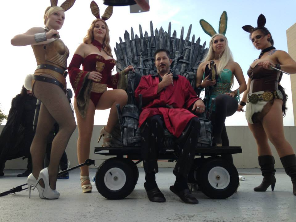 Dragon Con Iron Throne Game of Thrones Bunnies