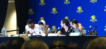 """Skydiving pterodactyl ninja wars!"" Or, The 100 panel at Dragon Con"
